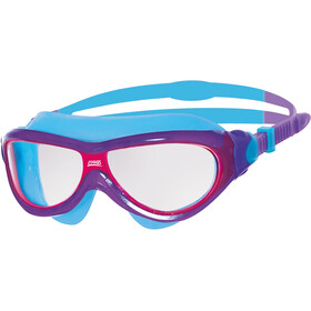 Zoggs Phantom Maska Młodzież, purple/light blue/clear